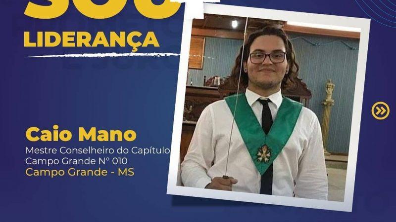 Caio Mano, do Capítulo Campo Grande 10