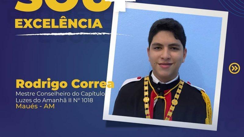 Rodrigo Correa, do Capítulo Luzes do Amanhã II 1018