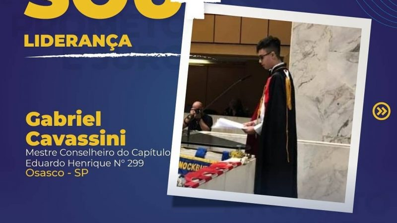 Gabriel Cavassini, do Capítulo Eduardo Henrique 299