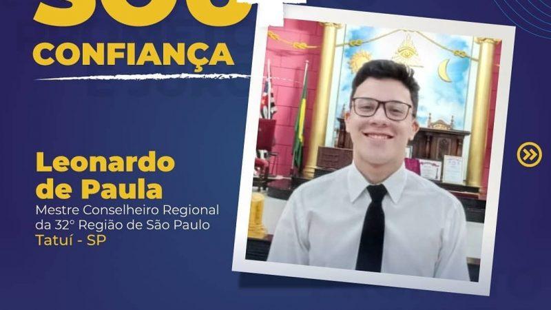 Leonardo de Paula, MCR da 32ª Região de SP