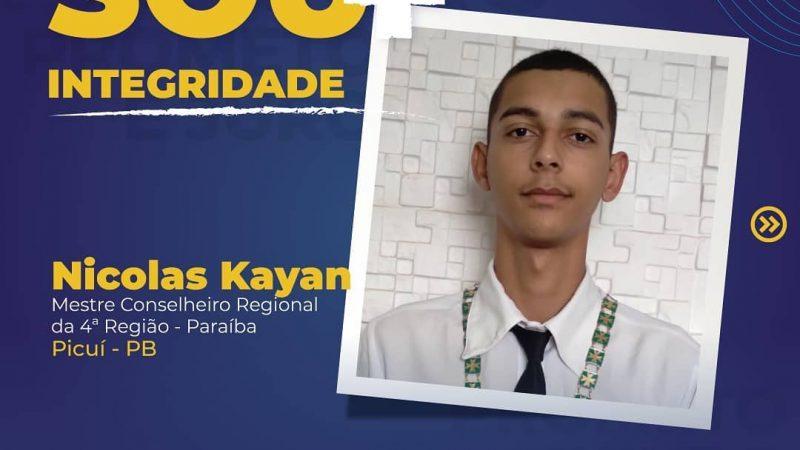 Nicolas Kayan, MCR da 4ª Região da PB